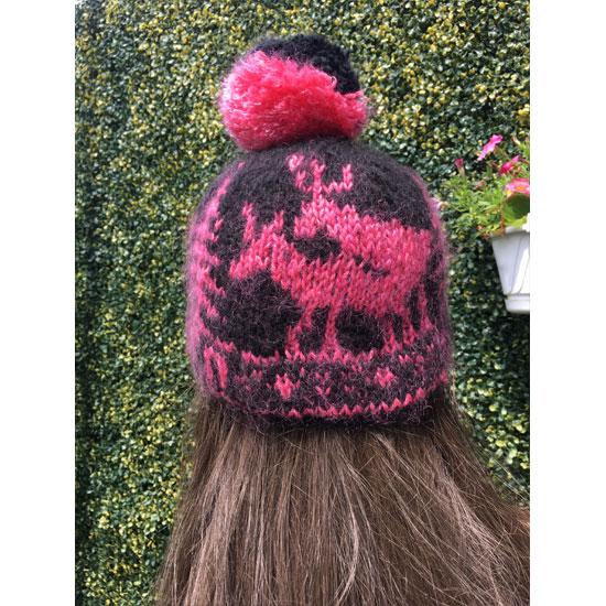 Bonnet jacquard tricot main rennes, dessin jacquard rennes, bonnet tricot main jacquard