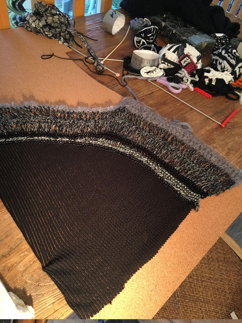 Nouvelle creation tricot Robe tricot nouvelle création tricot crochet créations tricot