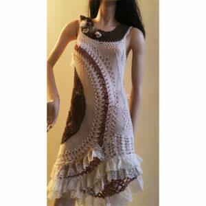 Robe Crochet «edelweiss»