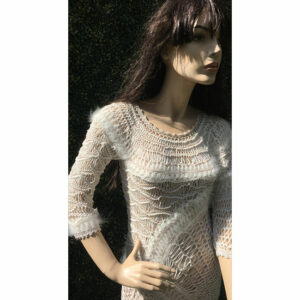 Robe Fourche Art Angora