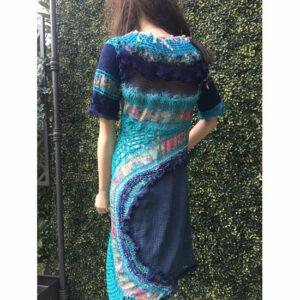 Robe Tissu Tricot De Createur