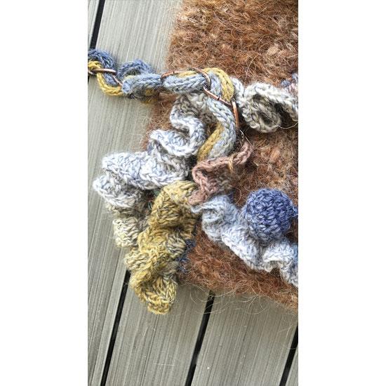 Sac tricot fait main, sac crochet et tricot, sac tricoté main