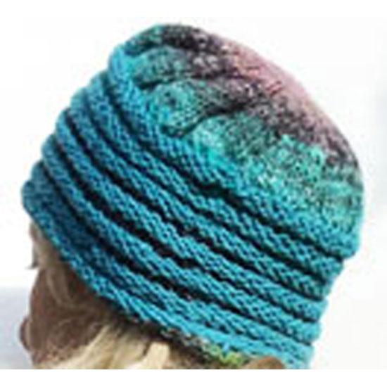 Veste-noro-tricot-main-soie-mohair-laine-chapeau