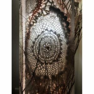 Abat Jour Crochet Art Tricot Dentelle