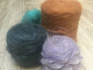 Tricot mohair laine