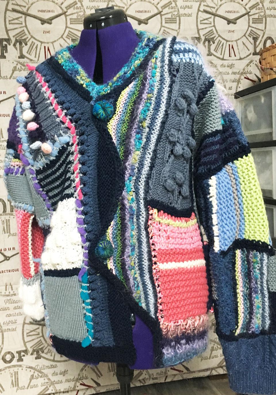 tricot artistique