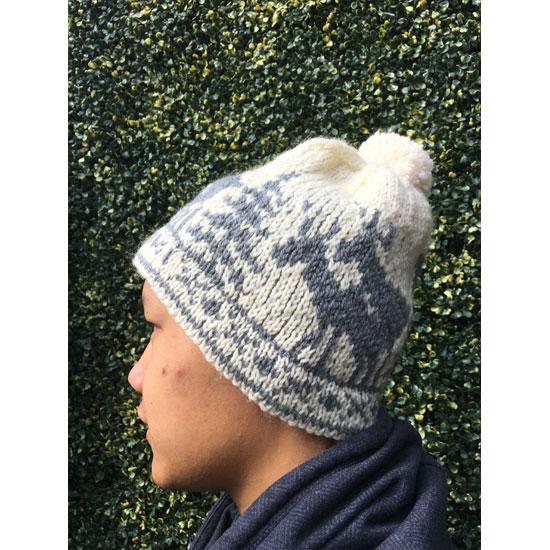 Bonnet jacquard tricot main rennes, dessin jacquard rennes, bonnet tricot main jacquard homme