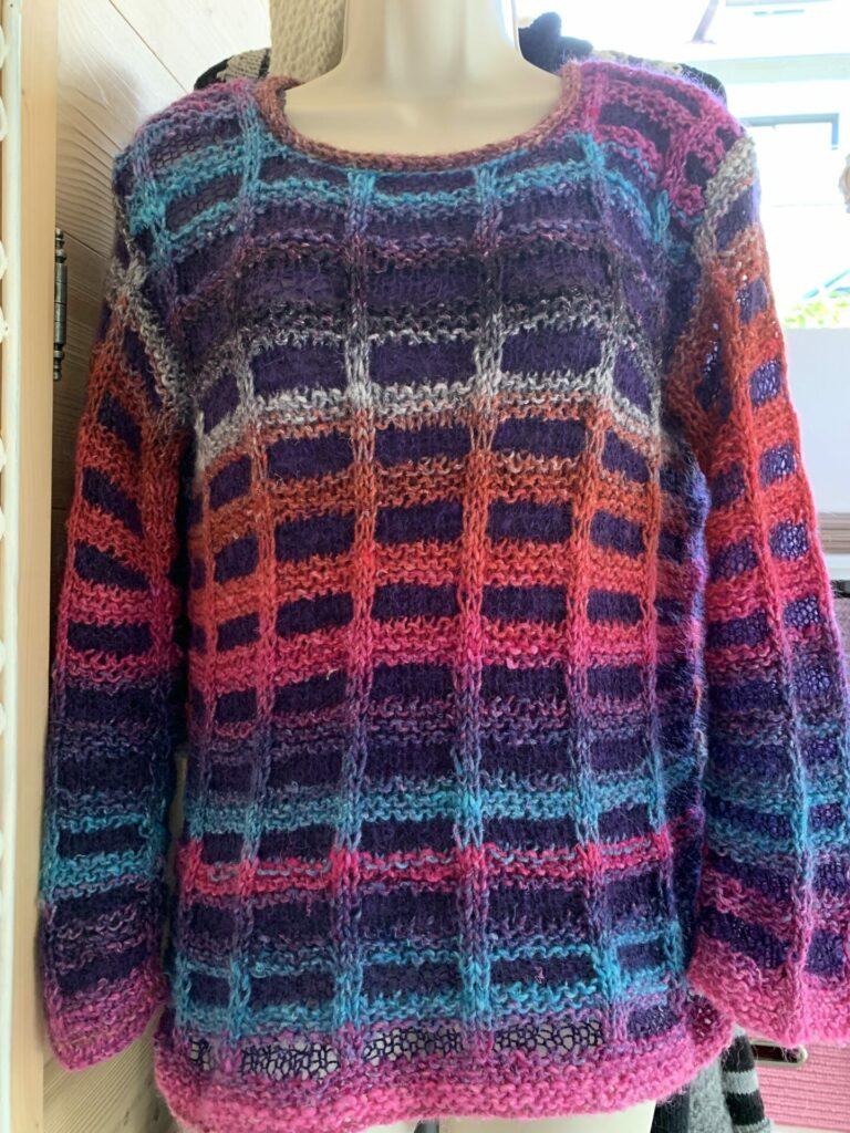 pull soie laine angora noro