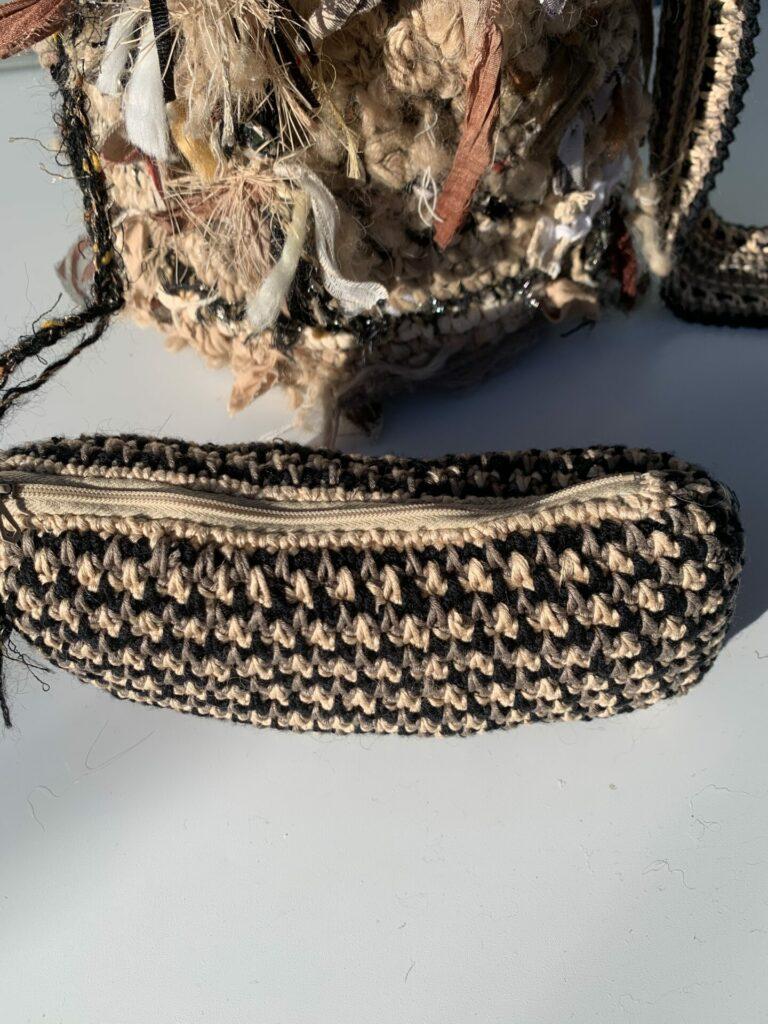 pochette au crochet