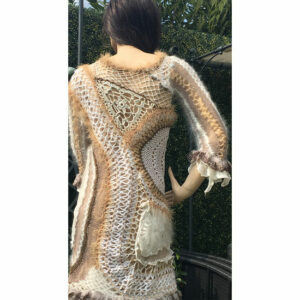 Robe Crochet Creation Tricot Crochet Fait Main Soie