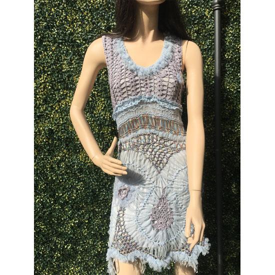 Robe Fourche Crochet