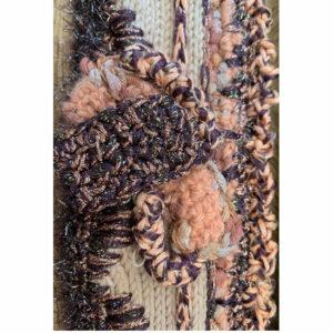 Bandeau Crochet Tricot Broderie