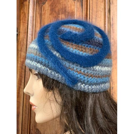 Chapeau Crochet «bleuet»