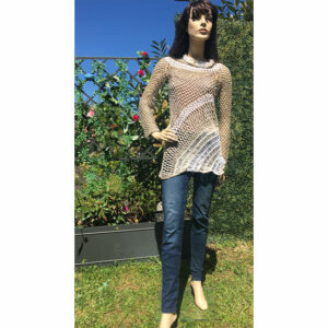 Pull Tunique Filet « Talloires »