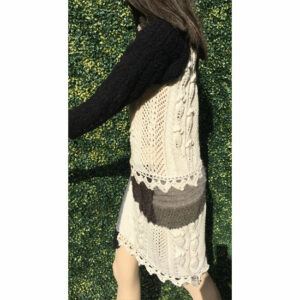 Robe Patchwork Tricot Main